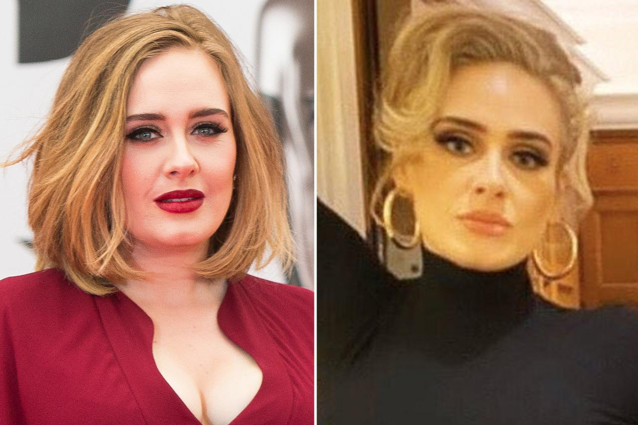 celeb plasticsurgery adele plastic surgery 20201203 Adele, music journey, weight loss, and plastic surgery October 28, 2020